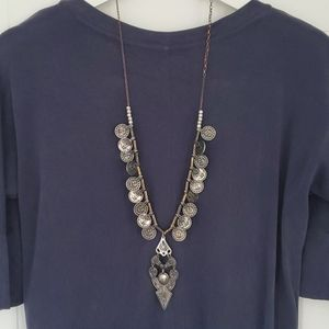 Free People coin necklace